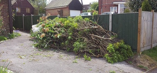 garden rubbish clearance